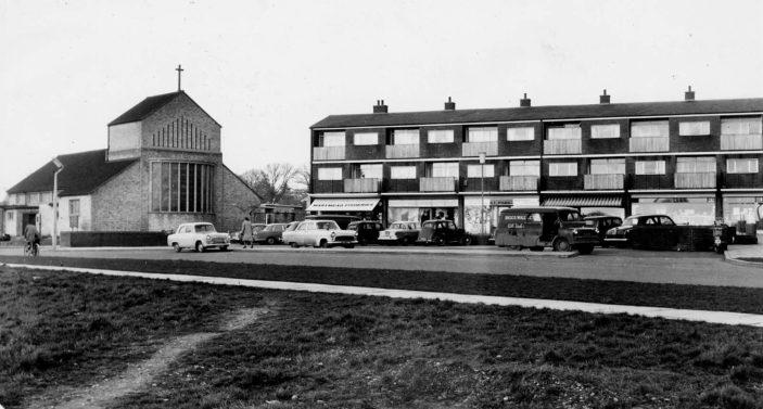 Marymead Shopping Centre c.1960 | Stevenage Museum P9159