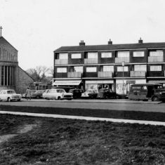 Marymead Shops & St Peter's Church | Stevenage Museum P9159