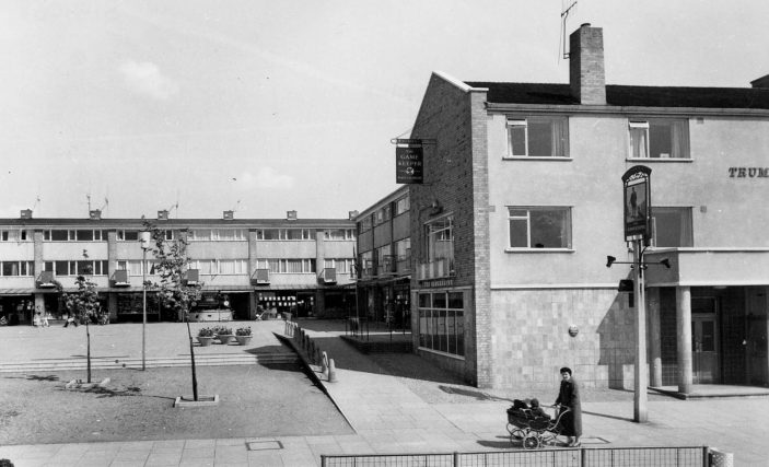 Bedwell Shopping Centre c.1960 | Stevenage Museum P9161