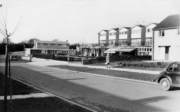 Hydean Way Shopping Centre c.1960 | Stevenage Museum P9164