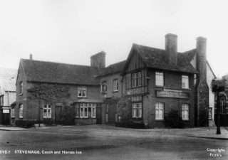The Coach and Horses c. 1955 | Stevenage Museum P9888