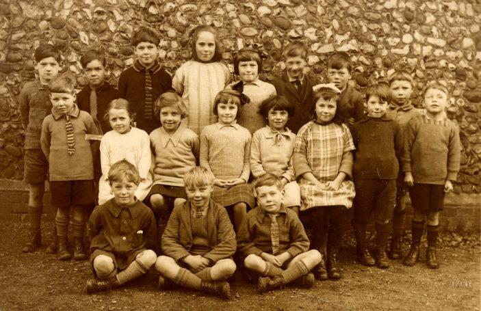 Shephall School. 1929   Stevenage Museum. PP13