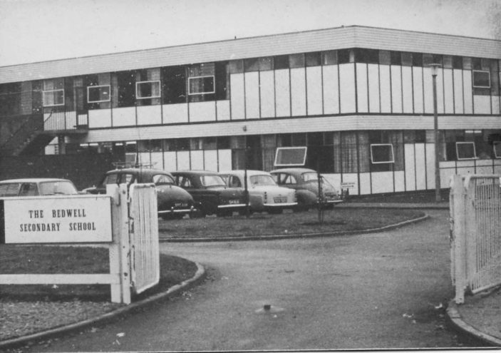 Bedwell School entrance 1968 | Stevenage Museum PP1382