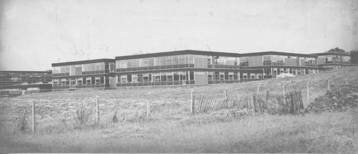 Girls' Grammar School under construction   Stevenage Museum PP1426