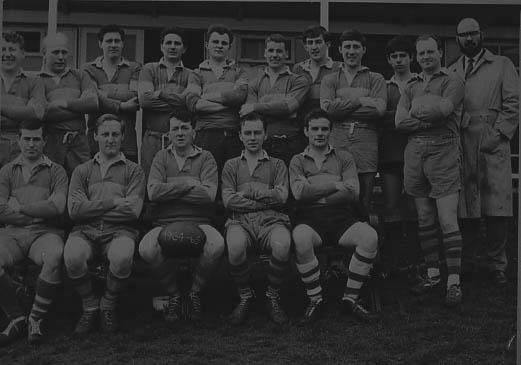 Bacavians Rugby Team. c.1960's   Stevenage Museum. PP451