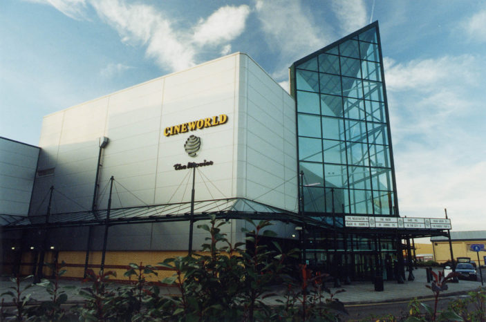 Cineworld Cinema - Stevenage Leisure Park. Photo taken in 2000 | Stevenage Museum. PP573