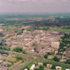 Aerial view of the Town Centre 1986