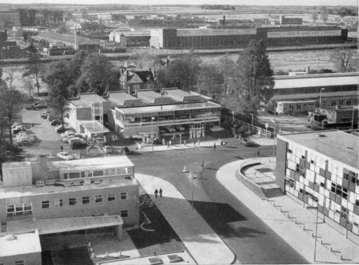 The Argyle Works from Southgate House c. 1963 | King Newsletter Summer 1963
