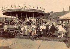 The Flying Horses. Stevenage Fair 1907