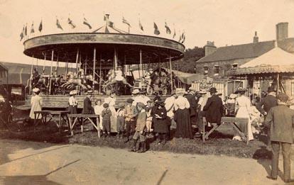 The Flying Horses - Stevenage Fair 1907 | Stevenage Museum P186