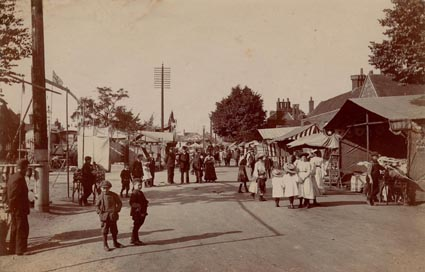 Stevenage Fair c.1901 | Stevenage Museum P176