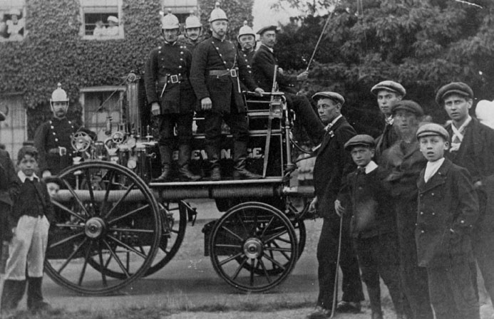 Stevenage Fire Brigade 1911