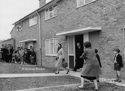Memories of the Queen's visit to Stevenage - April 1959