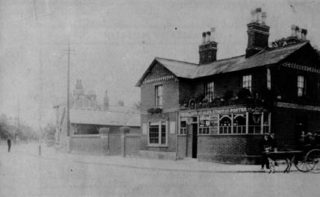 The Railway Inn c.1910. | Stevenage Museum P68