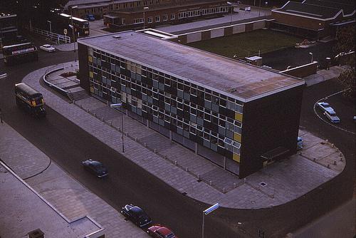 Stevenage Town Centre 1963 | Copyright Mark Bruce