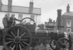 Traction Engines - Stevenage Carnival 1963