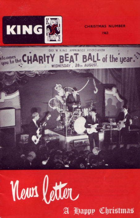 Geo. W. King Apprentice Association Charity Beat Ball August 28th 1963