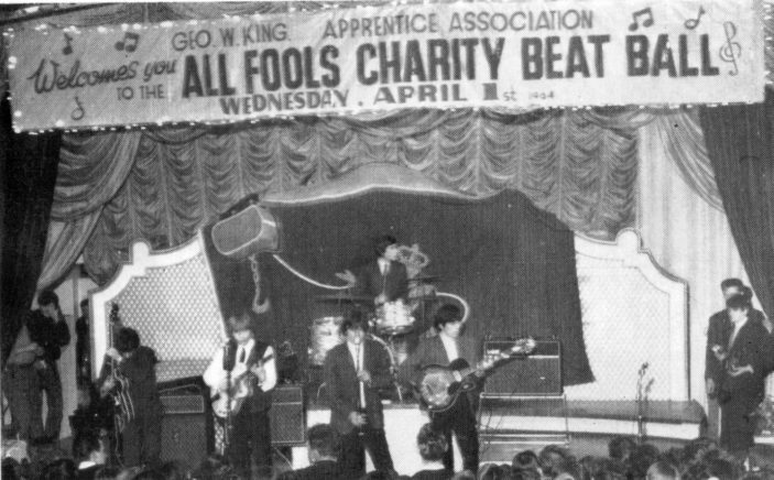The Rolling Stones on Stage | King News Letter Spring 1964