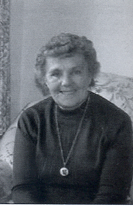 Mrs Connie Rees MBE, a New Town