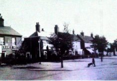 Who was living on the High Street in Stevenage in 1911 ?