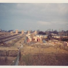 Railway station May 1975 | A. Briars