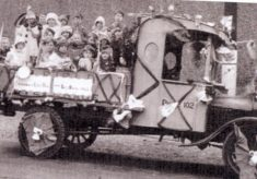 The Stevenage Carnival in its early days